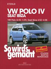 VW POLO 4 2001-2009 SEAT IBIZA REPARATURANLEITUNG SO WIRDS GEMACHT 129