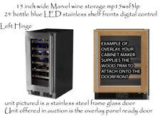 New Marvel 24 Bottle Wine Chiller MP15WSF3LP 15 inch blue LED digital control