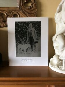 Vintage Photograph - Parson Jack Russell - Founder Breeder of Jack Russell Dogs