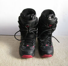 Dc Girls Phase Model #301312 Snowboard Boots Size Us 10 L