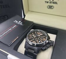 TW Steel Rare Kelly Rowland Anniversary Carbon Chronograph Watch TW312 RRP£549