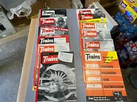 Trains Magazine Complete Year 1955 12 issues