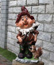 Zwerg  Design 1 33 cm Hoch  Garten Gartenzwerg Figuren Dekoration 13002 - 1