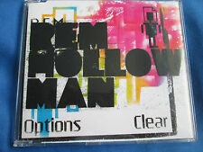 R.E.M. Hollow Man   Warner Bros. Records – PRO17141 Lyrics inc Promo CD Single