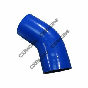 "Turbo Intercooler Silicon Hose Coupler 3.5"" 45 Degree"