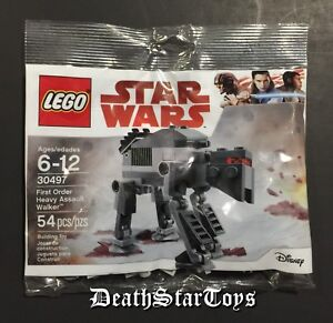 Star Wars The Last Jedi Lego First Order Heavy Assault Walker 30497 AT-AT AT-ACT