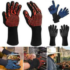 1472℉ Extreme Heat Resistant Single Glove BBQ Hot Grilling Cooking Oven Gloves