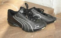 PUMA CELL MEN'S SHOES RUNNING BLACK SILVER SIZE 4.5