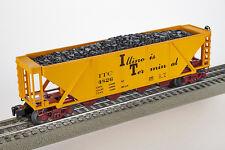 Lot 4090 Lionel Illinois Terminal 4-Entonnoir-charbon chariot (QUAD HOPPER Coal), neuf dans sa boîte