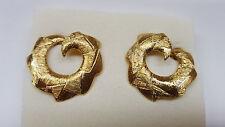 Pierre Lang Earrings Pl Ear Studs Earrings Hoop Earrings Gold Plated