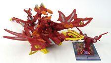 Bakugan Dragonoid Colossus Dragón Rojo Completo Con Jetkor Pyrus 50G tarjeta de &
