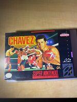 Chavez Boxing (Super Nintendo SNES) NEW RARE SEALED AUTHENTIC!
