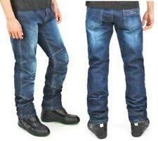 Jeans tecnici moto OJ Giove blu taglia 52 protezioni fianchi ginocchia