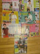 Louis Tomlinson, One Direction, Lot of EIGHT Full and Two Page Clippings