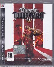 Ps3 PlayStation UNREAL TOURNAMENT 3 III nuovo sigillato italiano pal