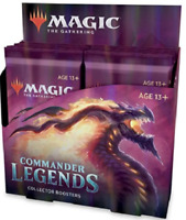 Commander Legends Collector Booster Box CMR 12 ct. NEW SEALED MTG SHIPS 11/20!