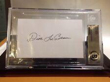 HOF Football Dick LeBeau Autographed 3x5 Beckett Authenticated Encapsulated