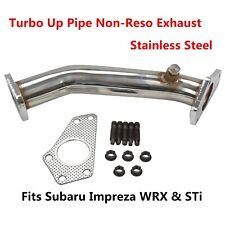 Turbo Up Pipe Non-Reso Exhaust Race Performance Fit Subaru Impreza WRX&STi