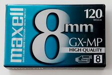 MAXELL 8 mm GX-MP Camcorder Video Tape 8mm 120 High Quality