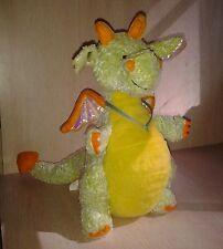 Ganz Webkinz Citrus Dragon Plush Retired no code