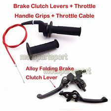 Brake Lever Throttle Cable Grips For Chinese Honda CRF50 Pit Dirt Bike SSR Lifan