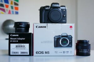 Canon EOS M5 24.2MP Kit