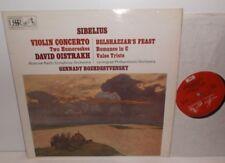 ASD 2407 Sibelius Violin Concerto David Oistrakh Gennady Rozhdestvensky