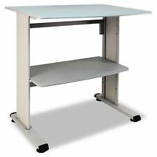 Buddy Products Stand Up Workstation with Beveled Edge 26.5 x 39.75 x 36.75 In