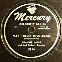 Frankie Laine And Carl Fischer's Orch | May I Never Love Again | Mercury EP 1948