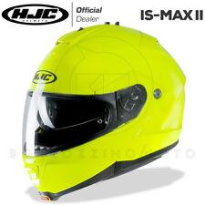 CASCO MODULARE APRIBILE MOTO HJC IS-MAX 2 II UNI GIALLO FLUO - ALTA VISIBILITA'