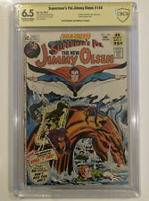 Superman's Pal Jimmy Olsen #144 CBCS 6.5 signed by JOE SIMON - not CGC not SS