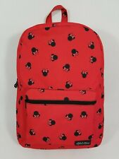 Disney Loungefly Minnie Mouse Backpack ~ Head Bow All Over Print AOP Full Size
