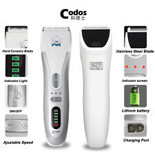 Codos Pet Electric Clipper Dog Hair Trimmer Rechargeable Hair Shaver Grooming