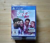 PS4 - Let´s Sing 2018 Bundle - Mit deutschen Hits! - (Neuware)