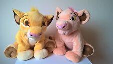 Disney Store/The Lion-Jumbo/King XL-Simba & Nala Peluche Giocattolo morbido/Bundle