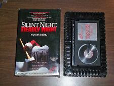 SILENT NIGHT DEADLY NIGHT - BETA RARE - 1984 CULT HORROR - U.S.A. BIG BOX
