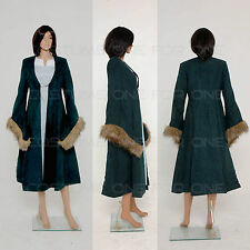 Game of Thrones Cats Aunt Catelyn Tully Stark Dress Halloween Cosplay Costume