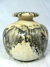 Beautiful GLAZED 70´s design otto ceramica pottery vaso 11 cm 366 grammi