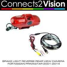 C2 CAM-NS3 Brake Light Reverse Rear View Camera for Nissan Primastar 2001-2014