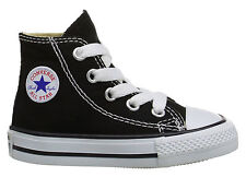 5cffe8f2123863 Converse Hi Tops Black Infant Toddler Baby Boys or Girls Kids Shoes Item  7J231