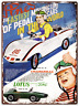 "1969 Pines Lotus Ford Pedal Car Metal Sign Racing Toy Ad Repro 9x12"" 60252"