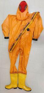 Trellchem Chimique Protection Suit Sécurité Suit (Taille:L)