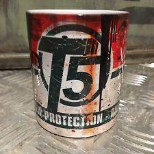 T5 mug - Van oil Gift Mechanic Gift 11oz Tea coffee gift Oilcan Vw Oil Can
