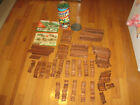 Lincoln Logs Vintage Tin Case, Rectangular Wooden Blocks, Roof, Manual , 300 pcs