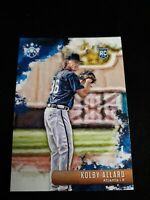 2019 Diamond Kings #61 Kolby Allard RC ATLANTA BRAVES ROOKIE