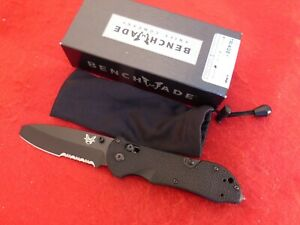 "Benchmade 915 Triage 3.5"" Opposing Bevel N680 G10 new in box knife"