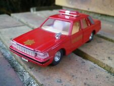 TOMICA DANDY TOYOTA CROWN POMPIER FIRE CHIEF 消防士 COMME NEUF 1/43