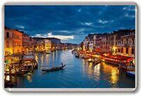 Venice Gondolas Fridge Magnet 03 Free Postage