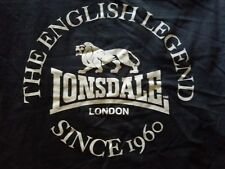 Lonsdale London Woman T Shirt Hardcore Gabber Skinhead HC Sharp Redskin M