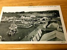 Des Moines IA Iowa State Fair Grounds on midway Postcard
